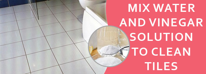 How to Clean Tiles with Vinegar in Brisbane