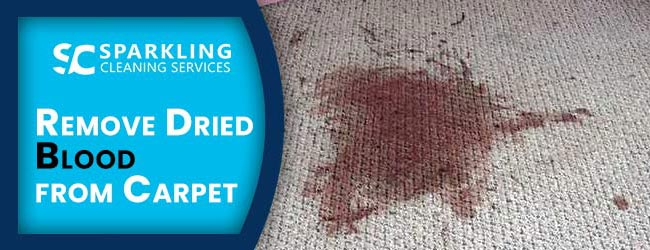 Remove Dried Blood from Carpet
