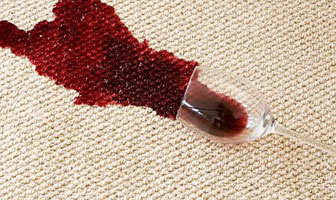 Carpet Red Wine Stain Removal